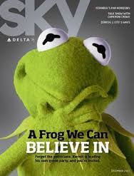 Kermit - a frog we can believe in